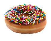 This is a doughnut