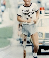 Terry Fox was working on the Marathon Of Hope