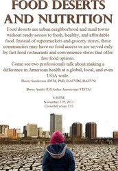 Food Deserts and Nutrition