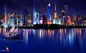 The country of Kuwait