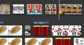 Arrange pictures