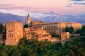 Ubicación de la Alhambra
