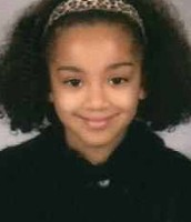 Ciara as a little girl