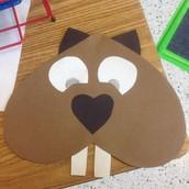 Making Woodchucks in 2nd grade!
