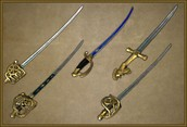 Revolutionary War Swords and Sabers