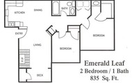 Come view our spacious 2 bedroom 1 bath