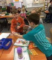 Counting our money for Pennies for Patients