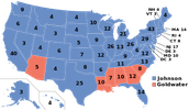 How Johnson Becomes President and election of 1964