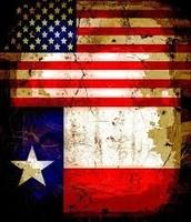 American & Texas Flag🇺🇸