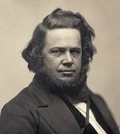 Elias Howe, maker of sewing machine.
