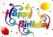 I wish you a very happy birthday my dear friend!