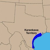 Location of the Karankawa