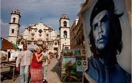 Una pintura de Fidel Castro
