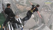 jumping off the stratospere