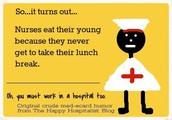 Nurse Clinic Closed for Lunch!  11:00-11:30