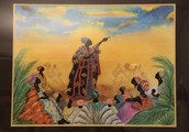 A night of African folklore