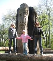 Мама, тітка і маленька я