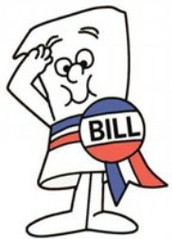 Step 1: Bill is introduced in the house