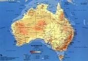 Australia's Major Landforms