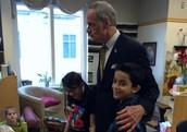 Senator Carper visits FSMA