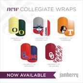 NEW Collegiate Wraps!!