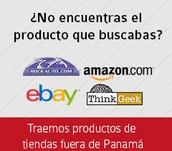 Puedes comprar productos en cualquier parte del mundo