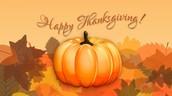 Student Appreciation Thanksgiving Dinner