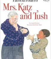 "Cover Page of ""Mrs. Katz and Tush"" picture book"