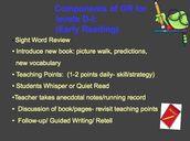 Components of Guided Reading in D-I
