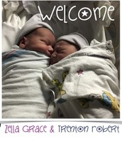 Zella Grace and Trenton Robert