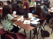 Desks in Groups