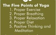 Five Points of Yoga