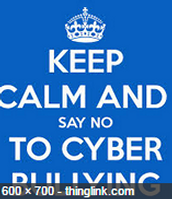 Cyber bullying is bad!!!!!