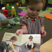 Millie finds a girl in the book who she thinks looks just like her :-)