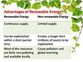 Renewable Energy vs Non-Renewable Energy
