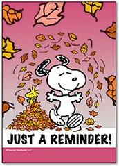 Reminders.......