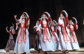 Georgian Folk Dancers