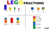 We're Making Fractions with Legos!