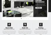 Webdesign för inredning & möbel