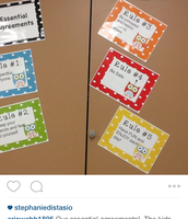 Mrs. Webb's students created the classroom rules