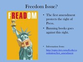 Why its against the first amendment?