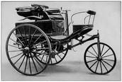 First three wheeled automobile