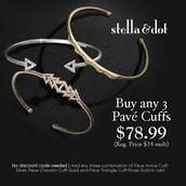 Pave Cuffs!
