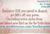 Don't Miss Out on Ladies Night In and Thirty-One's HOT August Special