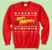 Come out wearing your ugly Christmas sweaters!!