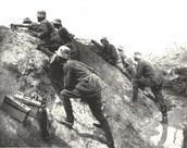 The Battle of Amiens. August 8, 1918. Pitcardy, France.