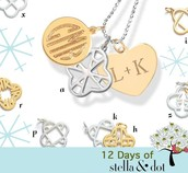 Stackable Necklace Charms