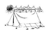 Khemah Bentuk Ridge Besar