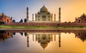 building type, how much the Taj mahal cost