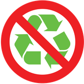Items that CANNOT be recycled in Davidson County;